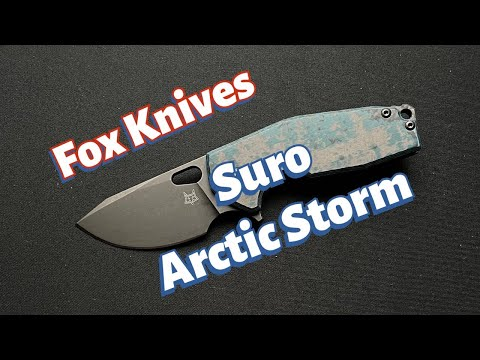 Fox Knives Limited Suro Arctic Storm  Knife Review
