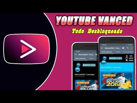 Nuevo Youtube Vanced v14.06.54 (Black/Dark/Blue/Pink) + MicroG Actualizado 2019 No Ads 