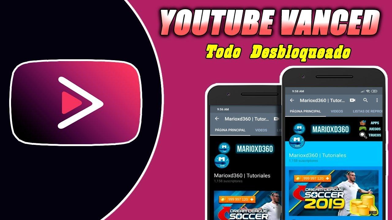 Nuevo Youtube Vanced v14 06 54 (Black/Dark/Blue/Pink) + MicroG Actualizado  2019 No Ads 