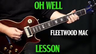 "Gambar cover how to play ""Oh Well, Part 1"" on guitar by Fleetwood Mac Peter Green 