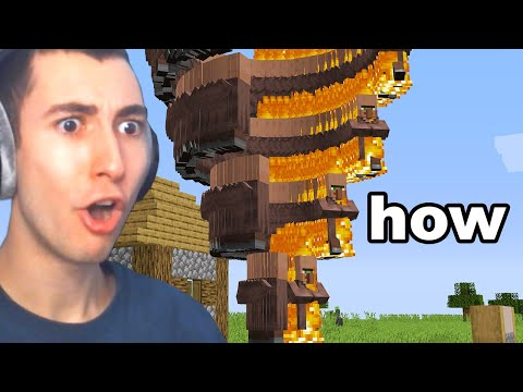 Testing Minecraft Creations That Are Surprisingly Real... - Bionic