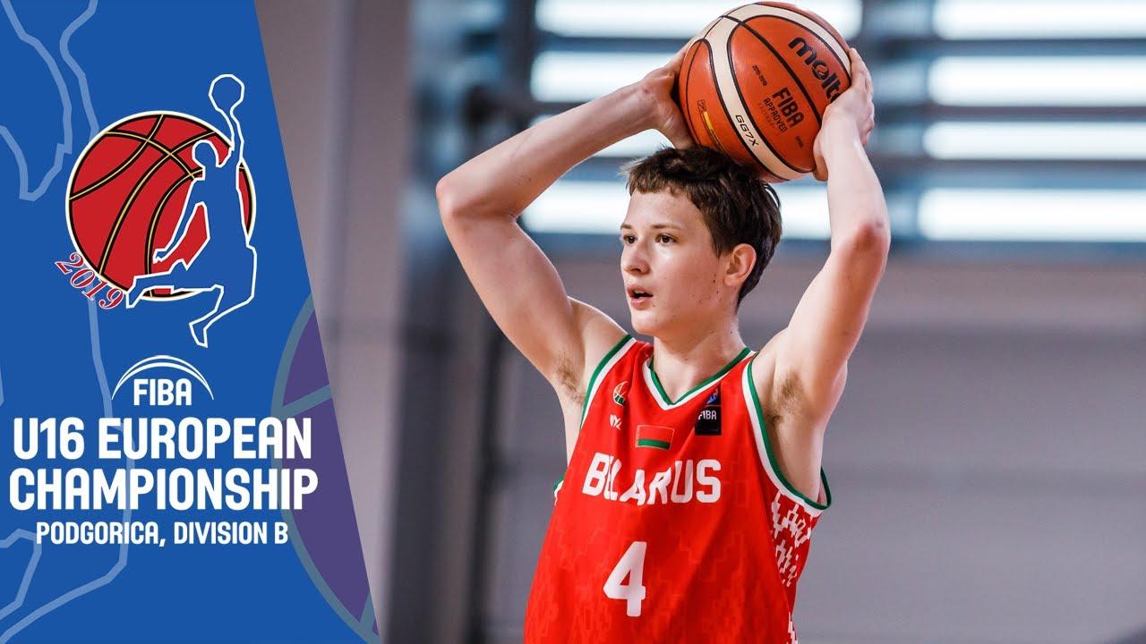 Cyprus v Belarus - Full Game - FIBA U16 European Championship Division B 2019