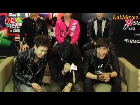 [ENG SUB] 2PM Interview with Omy.sg [Singapore Hands Up Asian Tour]