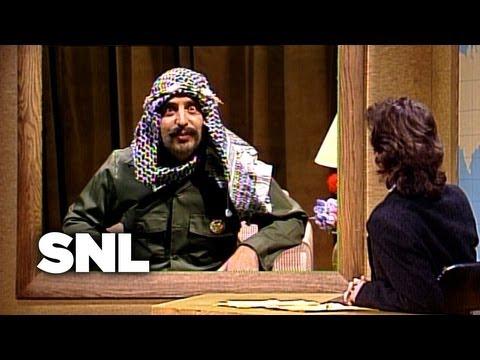 Jon Lovitz As Yasser Arafat - Saturday Night Live