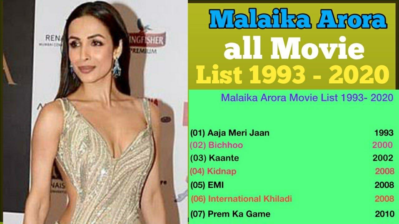 Download Malaika Arora All Movie List 1993 - 2020