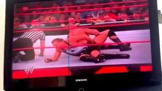 Brock Lesnar vs RVD on Raw