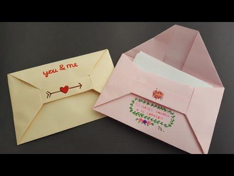 Cómo hacer un sobre para carta - Origami