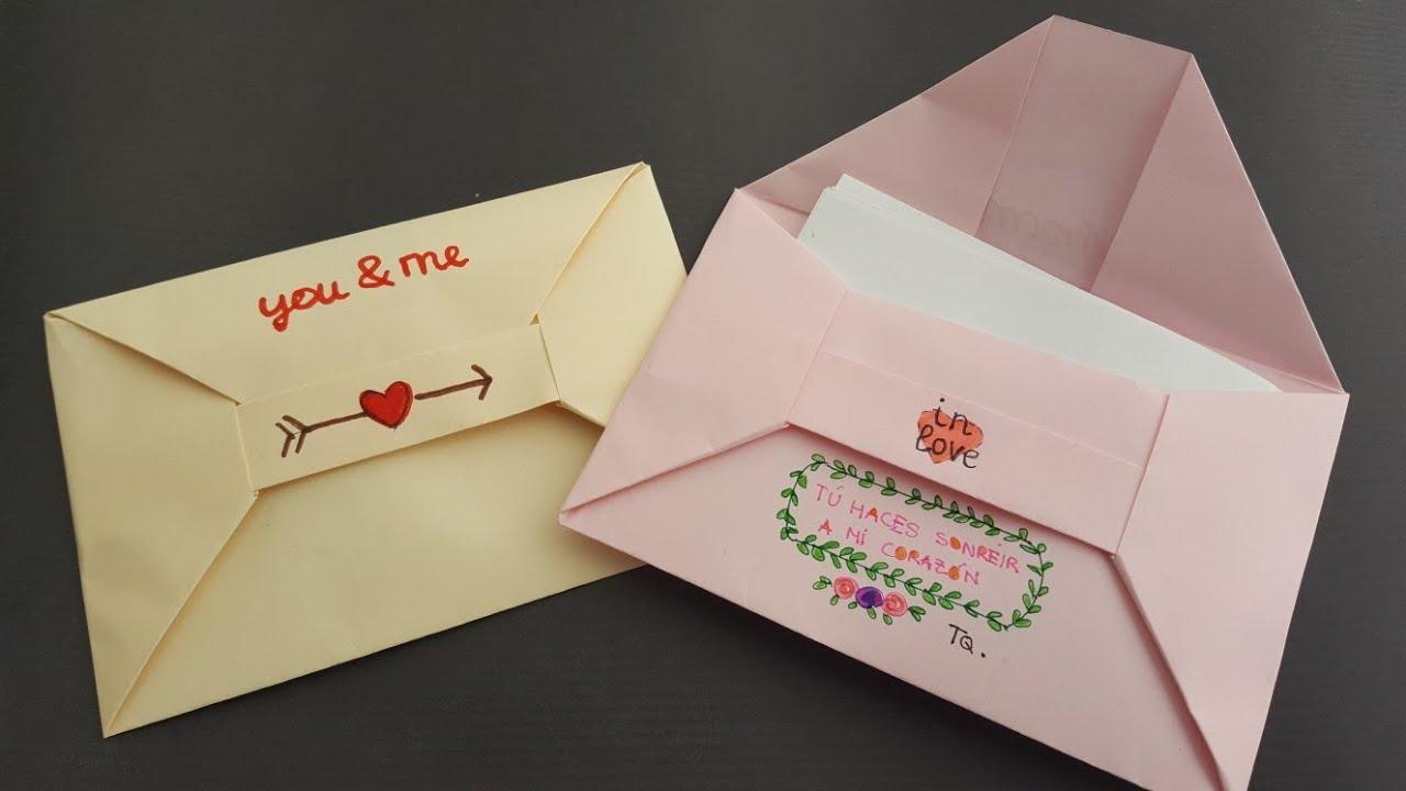 Download Cómo hacer un 📩 SOBRE 📩 para carta   Origami PASO A PASO