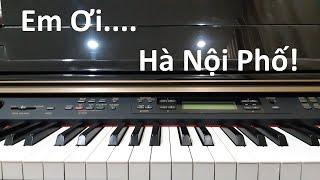 Em ơi Hà Nội Phố - Phú Quang | Piano Cover | Đinh Công Tú