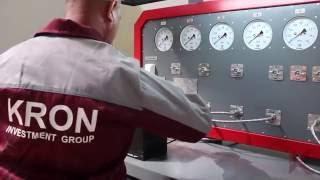 Видео обзор стенда для проверки пневмооборудования  автомобилей К-245