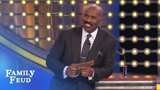 Xmas comes early for Al! | Family Feud