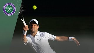 Novak Djokovic vs Denis Kudla Wimbledon 2019 Second Round Highlights