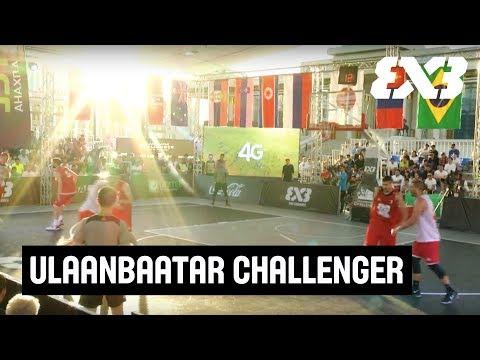 FIBA 3x3 Ulaanbaatar Challenger 2017 - LIVE - Day 2