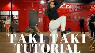 Taki Taki- Dj Snake DANCE TUTORIAL | Dana Alexa Choreography