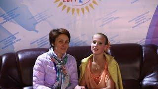 Darya Sirotina coach Elena Nazarenko SP