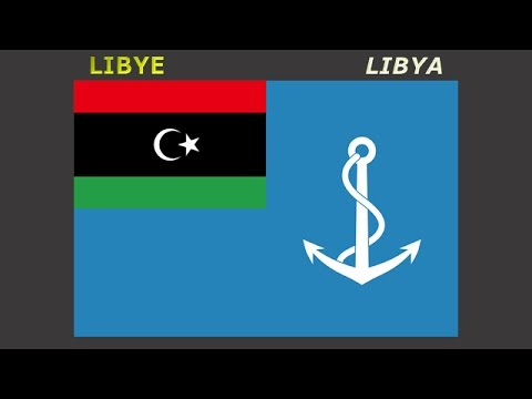 Naval ensigns of Africa - Námořní prapory států Afriky