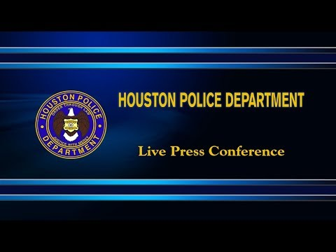 Chief Acevedo to Discuss Arrests of Two Shooting Suspects | Houston Police Department