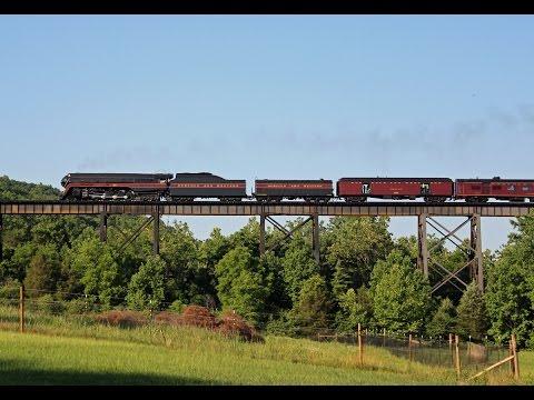 HiDef: N&W 611-Chasing a Streamlined Steamer Through Rural Virginia!