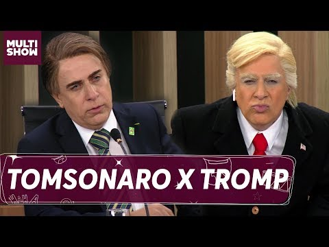 Tomsonaro e Tromp se encontram na sessão do plenário | Tom Cavalcanti | Multi Tom | Humor Multishow