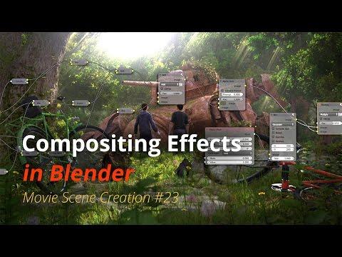 MSC #23 - Compositing Effects (Blender Tutorial EN)