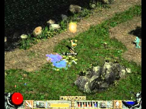 How go to secret cow level in Diablo II - TUTORIAL - YouTube