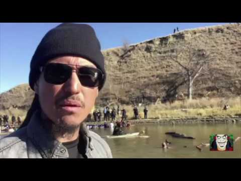 STANDING ROCK - *Reporter shot with rubber bullet @ DAPL*