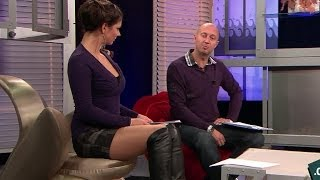 Marta Ondrackova Beautiful Czech Tv Presenter 20.10.2011