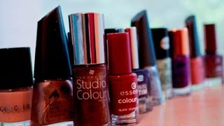 ASMR/Whisper. Show & Tell: Nail Polish Collection