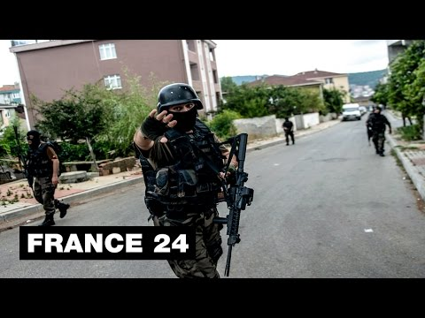 Turkish security forces reel from wave of attacks
