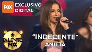 Anitta &quotIndecente&quot Talento FOX