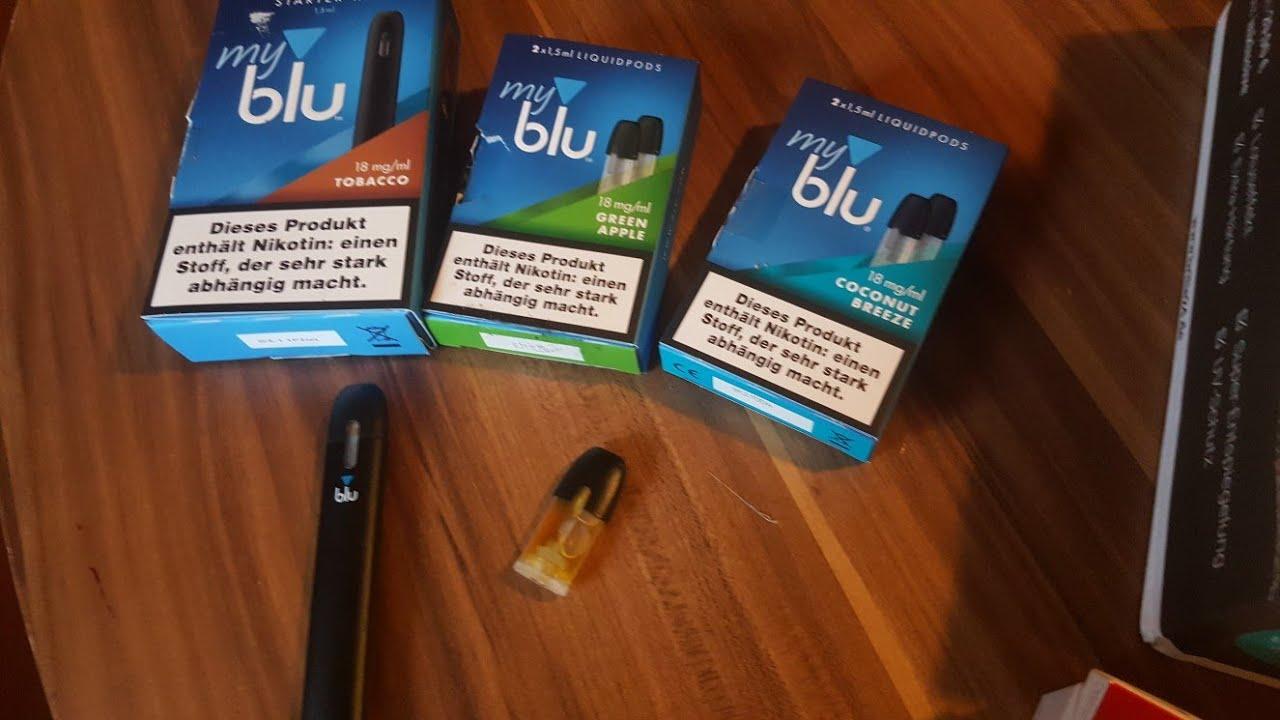 My Blu E Zigarette Test