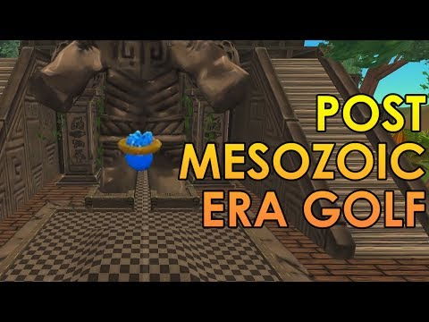 GOLF IN THE POST-MESOZOIC ERA - Golf With Friends Gameplay