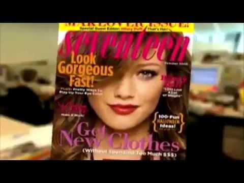 Hilary Duff - Seventeen Magazine - Photoshoot & Interview 2006 - HD