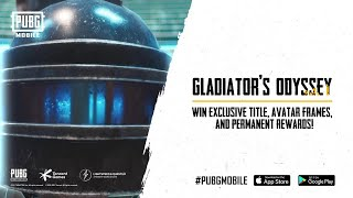 PUBGM The Arena | Gladiator's Odyssey