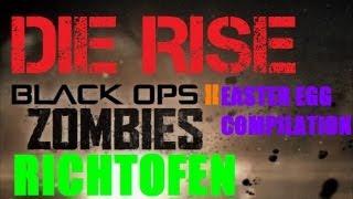 Die Rise Easter Egg High Maintenance Achievement Compilation Guide (Richtofen's Side)