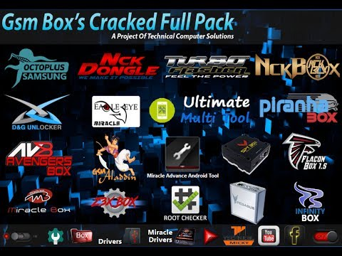 Gsm Box Cracked Full Pack Version 2 By TCS   All In One Mobile Box Crack