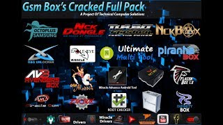 Gsm Box Cracked Full Pack Version 2 By TCS | All In One Mobile Box Crack