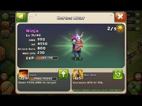 Castle Clash Ninja Account Competition Made Possible By Intzi