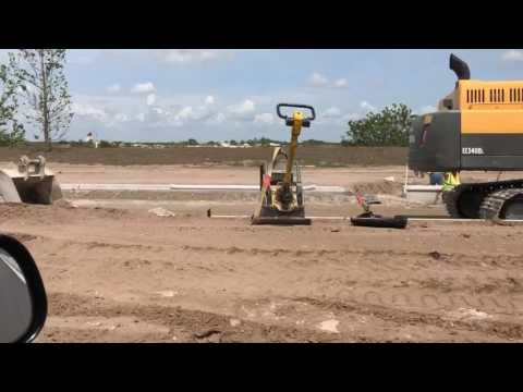 First homes under construction at Lakewood Ranch Waterside