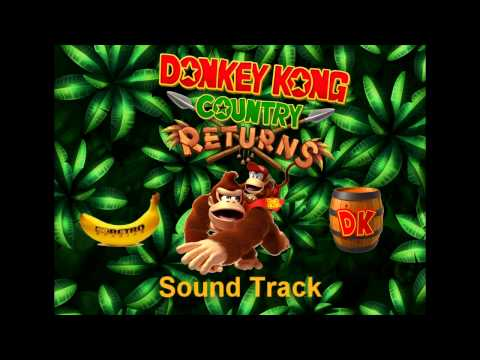 [Music] Donkey Kong Country Returns - Life In The Mines Returns