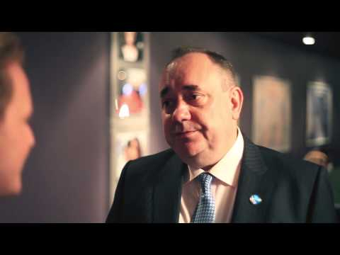 Alex Salmond   the Yes Campaign Launch