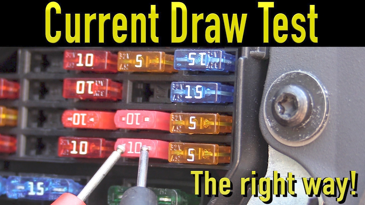 The Best Way To Perform A Parasitic Draw Test