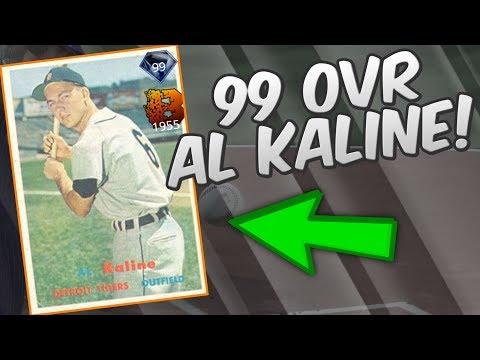 NEW 99 OVERALL AL KALINE IS CLUTCH! | MLB THE SHOW 17 DIAMOND DYNASTY