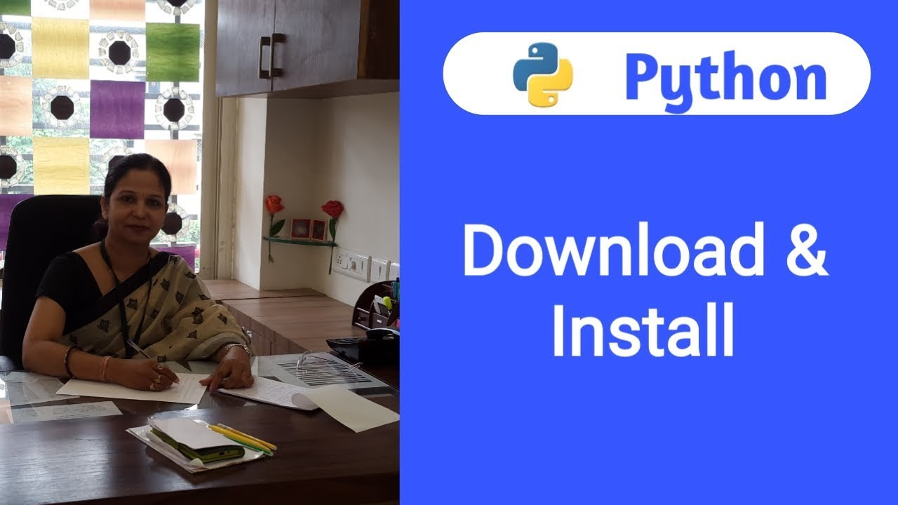 Python Tutorial For Beginners - 1   How To Download And ...