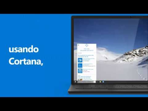 Bienvenido a Windows 10