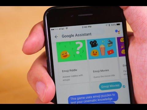Google Allo Chat Games - Emoji Movies & Emoji Riddle
