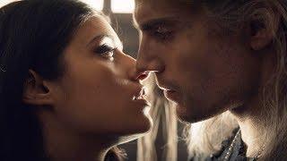 ведьмак 1x06 - Поцелуй Геральта и Йеннифэр
