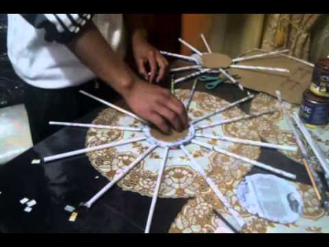 Tutorial de como hacer cestas de papel peri dico youtube - Ver como hacer manualidades ...