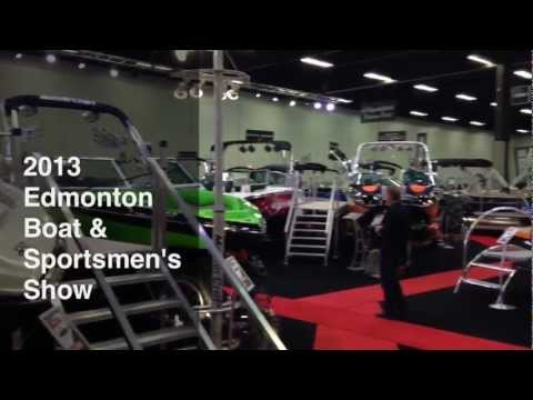 2013 Edmonton Boat & Sportsmen's Show With Martin Motor Sports