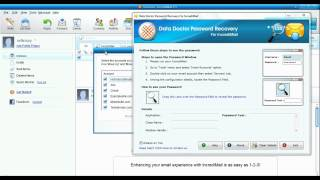 How To Recover Deleted Passwords With IncrediMail Email Client Password Recovery Software Freeware